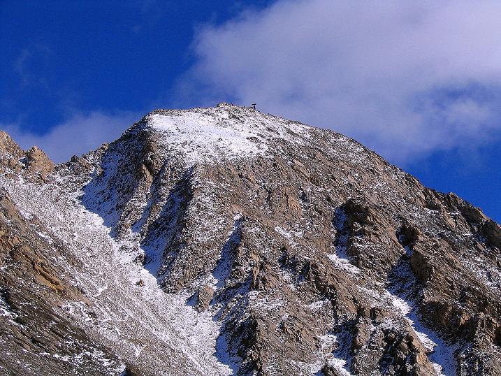 Foto: Andreas Koller / Wander Tour / Auf dem Saazerweg auf die Vordere Kendlspitze (3088m) / Die Vordere Kendlspitze / 15.09.2008 23:24:24