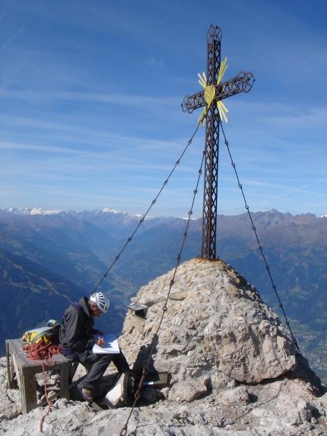 Foto: Manfred Karl / Kletter Tour / Roter Turm Silberpfad / 11.10.2008 23:25:28
