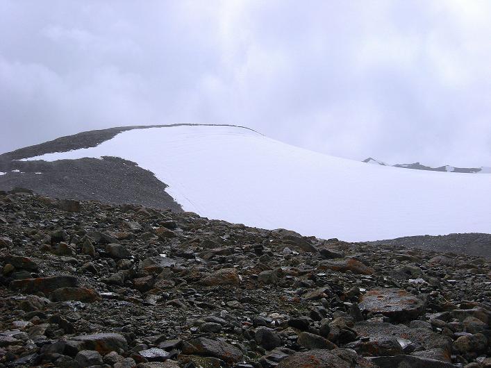 Foto: Andreas Koller / Wander Tour / Von Nimaling auf den Theny Ri (5765m) / Der behäbige Gipfelaufbau / 17.09.2008 23:45:18