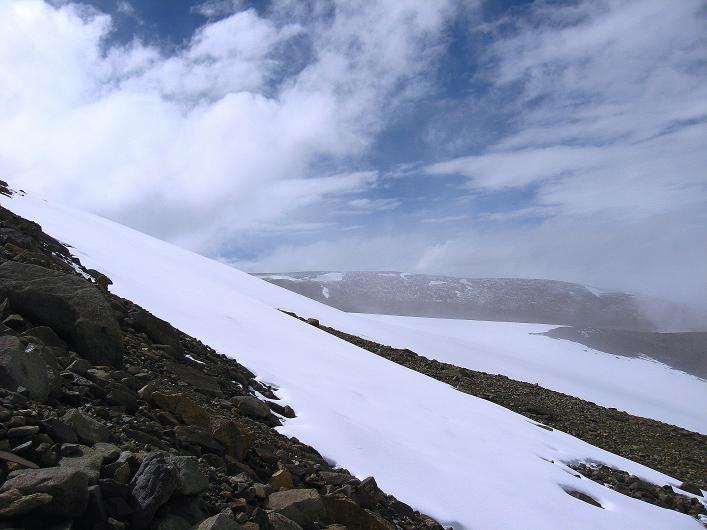 Foto: Andreas Koller / Wander Tour / Von Nimaling auf den Theny Ri (5765m) / Der Gletscher / 17.09.2008 23:44:19