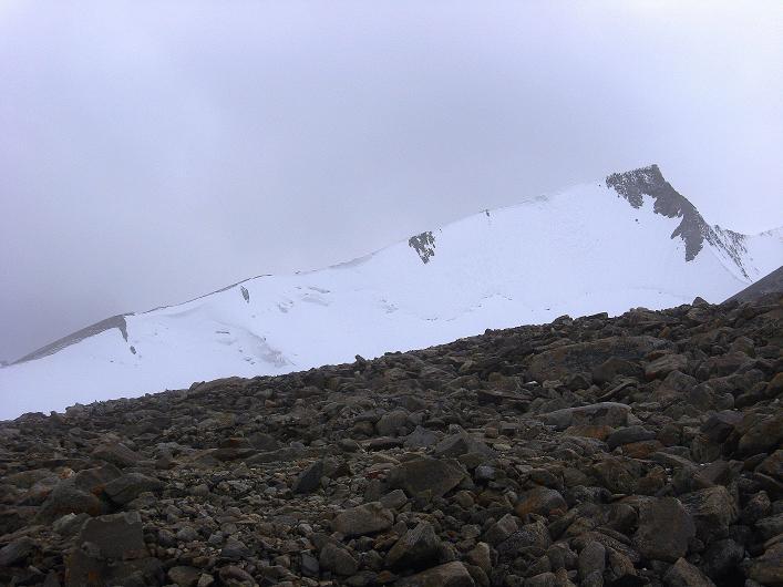 Foto: Andreas Koller / Wander Tour / Von Nimaling auf den Theny Ri (5765m) / Dzo Jongo - Ostgipfel und Ostgrat (6217 m) / 17.09.2008 23:44:09