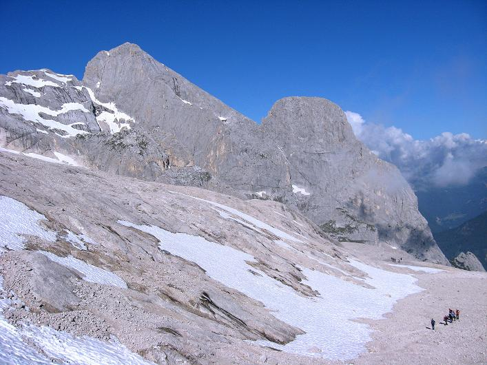 Foto: Andreas Koller / Klettersteig Tour / Marmolada (3343m) - Westgrat Klettersteig (Hans Seyffert Weg) / Gran Vernel (3205 m) / 18.09.2008 00:36:57