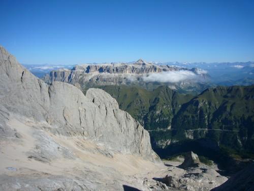 Foto: hofchri / Klettersteig Tour / Marmolada (3343m) - Westgrat Klettersteig (Hans Seyffert Weg) / Was will Mann mehr - Traumhafter Tag bei perfekter Fernsicht! / 14.02.2009 16:12:38