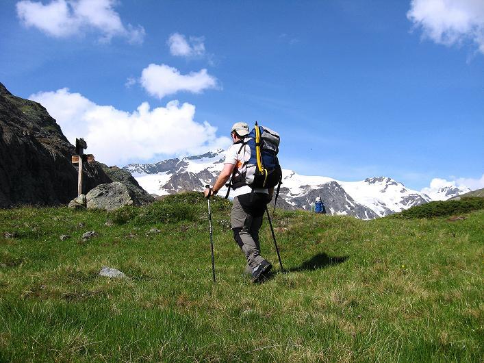 Foto: Andreas Koller / Wander Tour / Aus dem Martelltal auf die Köllkuppe (3330m)  / Am Gletscherlehrpfad / 18.09.2008 21:52:55