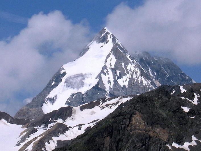 Foto: Andreas Koller / Wander Tour / Aus dem Martelltal auf die Köllkuppe (3330m)  / Die Königspitze (3859 m) / 18.09.2008 21:47:43