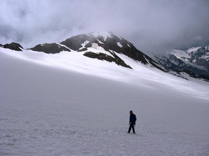 Foto: Andreas Koller / Wander Tour / Aus dem Martelltal auf die Köllkuppe (3330m)  / Abstieg am Hohenferner / 18.09.2008 21:30:15