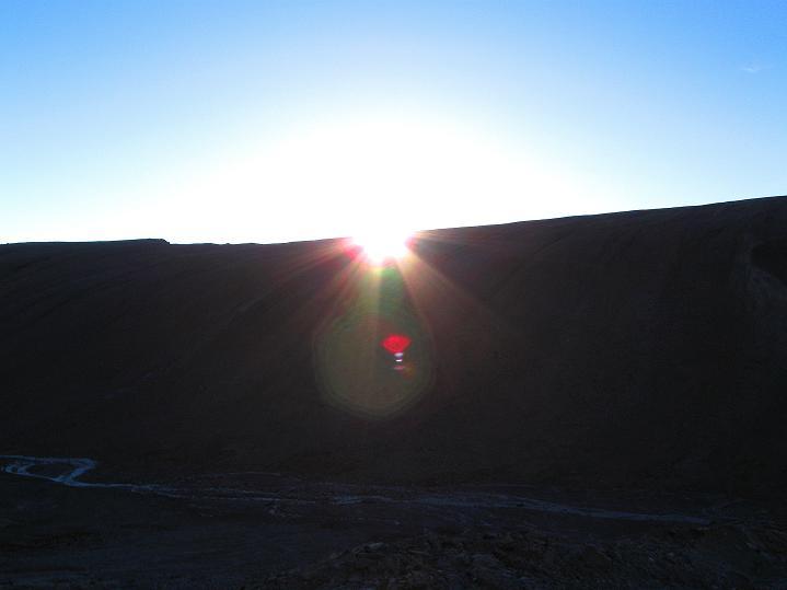 Foto: Andreas Koller / Wander Tour / Dzo Jongo (6217m) / Sonnenaufgang über Nimaling / 18.09.2008 22:50:07