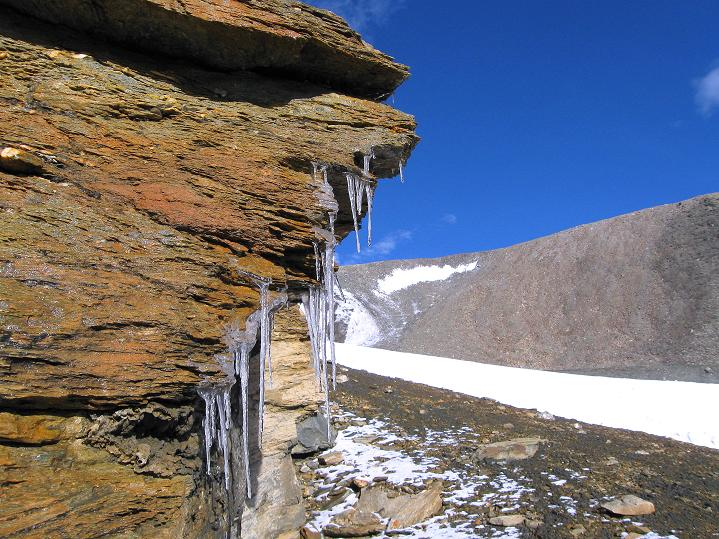 Foto: Andreas Koller / Wander Tour / Dzo Jongo (6217m) / Eisimpressionen und Gletscherzunge / 18.09.2008 22:48:18