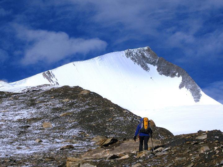 Foto: Andreas Koller / Wander Tour / Dzo Jongo (6217m) / Erster Blick auf den Dzo Jongo / 18.09.2008 22:47:58