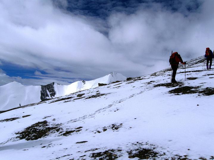 Foto: Andreas Koller / Wander Tour / Dzo Jongo (6217m) / Technisch einfacher Abschnitt / 18.09.2008 22:43:10