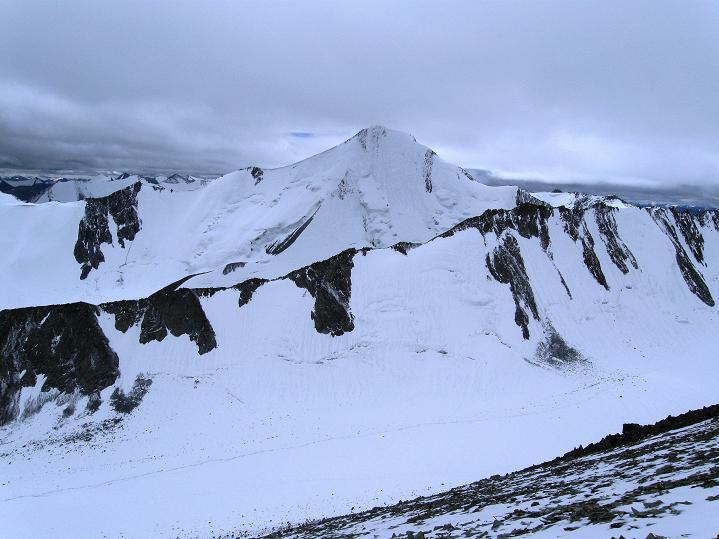 Foto: Andreas Koller / Wander Tour / Dzo Jongo (6217m) / Gletscherfelder um den Gapo Ri (6090 m) / 18.09.2008 22:40:45