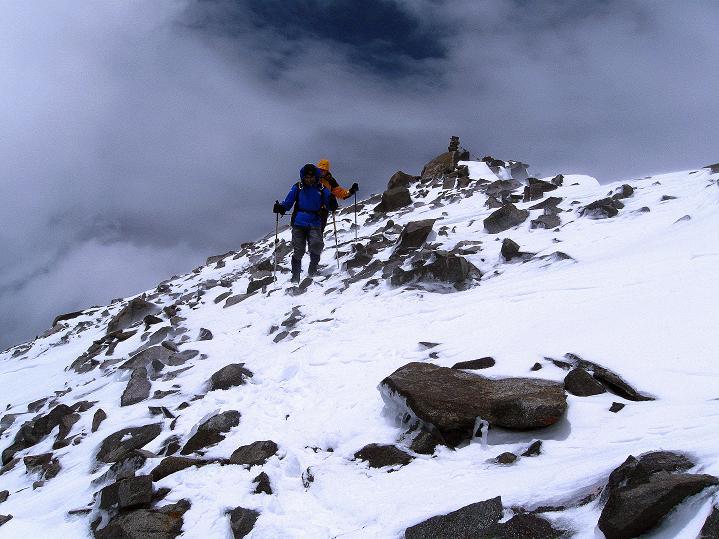 Foto: Andreas Koller / Wander Tour / Dzo Jongo (6217m) / Starker Wind lässt die Temperaturen purzeln / 18.09.2008 22:36:22