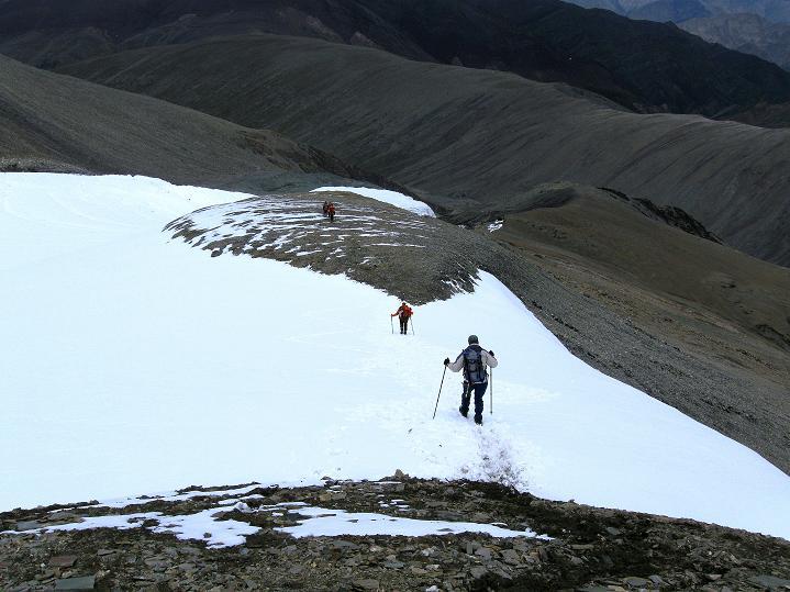 Foto: Andreas Koller / Wander Tour / Dzo Jongo (6217m) / Abstieg am unteren O-Grat / 18.09.2008 22:35:13