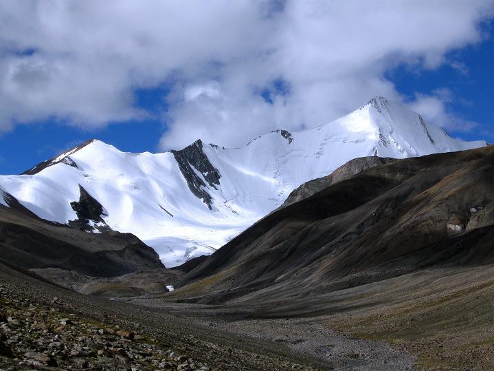 Foto: Andreas Koller / Wander Tour / Aussichtsgipfel Uatse Ri (5673m) / Gapo Ri (6090 m) / 23.09.2008 00:43:00