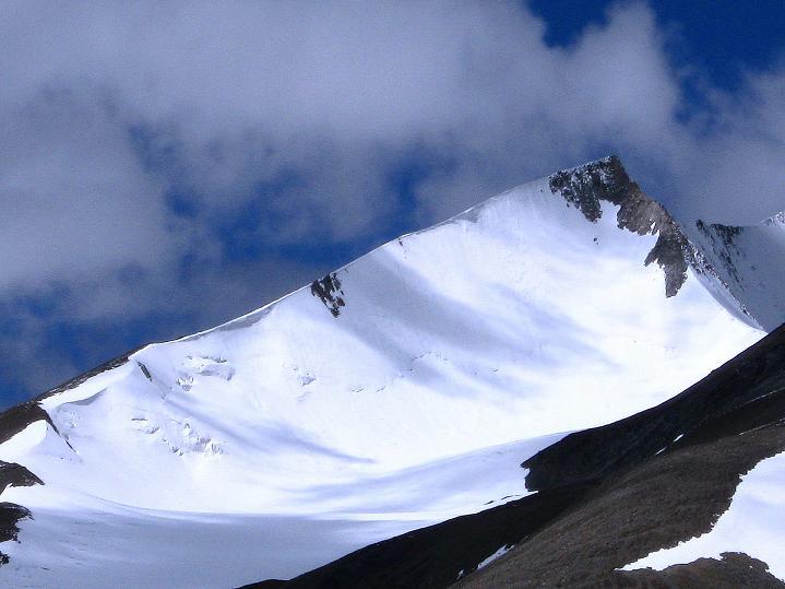 Foto: Andreas Koller / Wander Tour / Aussichtsgipfel Uatse Ri (5673m) / Dzo Jongo Ostgrat (6217 m) / 23.09.2008 00:37:56