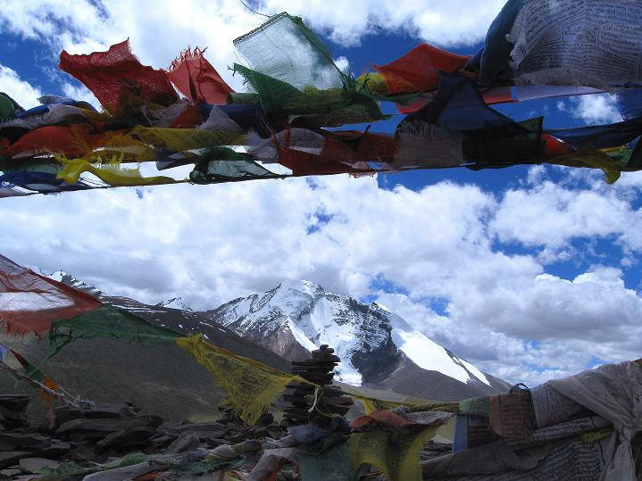 Foto: Andreas Koller / Wander Tour / Aussichtsgipfel Uatse Ri (5673m) / Kang Yatse (6404 m) / 23.09.2008 00:33:11