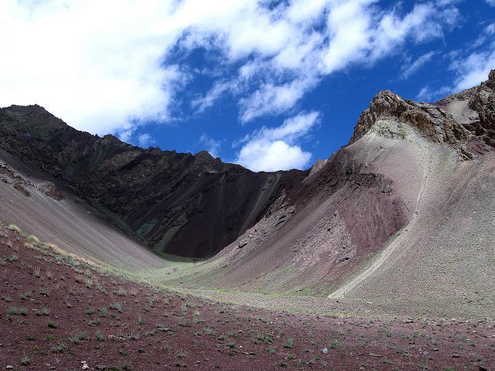 Foto: Andreas Koller / Wander Tour / Aussichtsgipfel Uatse Ri (5673m) / Farbenprächtiges Tal / 22.09.2008 23:39:33