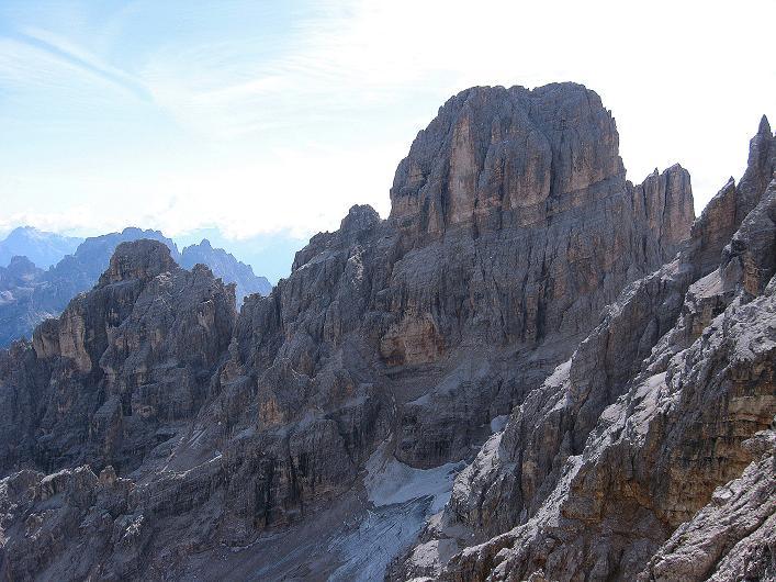 Foto: Andreas Koller / Klettersteig Tour / Ferrata Marino Bianchi - Cristallo di Mezzo (3167 m) / Der Monte Cristallo (3221 m) / 23.09.2008 01:37:22
