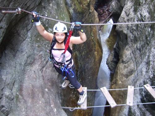 Klettersteig Postalm : Postalm klettersteig u erweiterung mit extremroute e f « alle