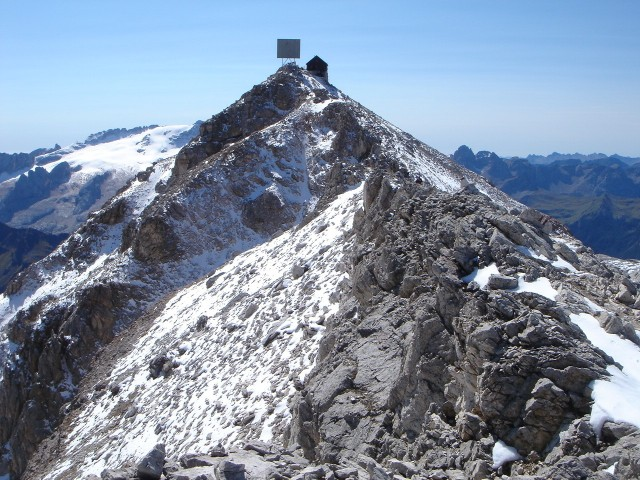 Foto: Manfred Karl / Klettersteig Tour / Piz Boè (3152m), Via ferrata Cesare Piazzetta / Piz Boè / 23.09.2008 19:17:01