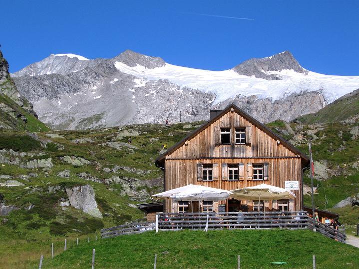 Foto: Andreas Koller / Wander Tour / Schwarze Wand und Hoher Zaun - stille Gipfeltour vom Defregger Haus (3507 m) / Die Johannishütte / 24.09.2008 00:08:03