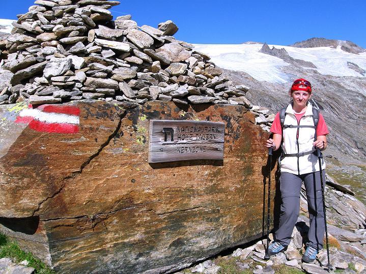 Foto: Andreas Koller / Wander Tour / Schwarze Wand und Hoher Zaun - stille Gipfeltour vom Defregger Haus (3507 m) / Nationalpark Hohe Tauern / 24.09.2008 00:04:58