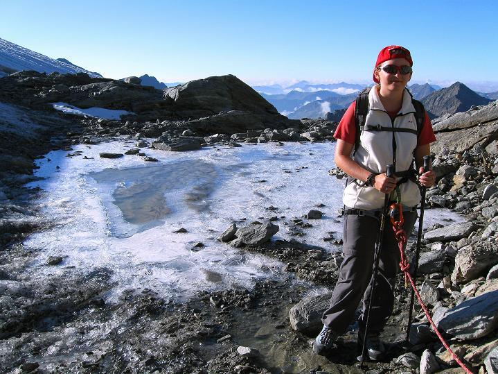 Foto: Andreas Koller / Wander Tour / Schwarze Wand und Hoher Zaun - stille Gipfeltour vom Defregger Haus (3507 m) / Aufstieg am Mullwitz Aderl / 24.09.2008 00:01:44