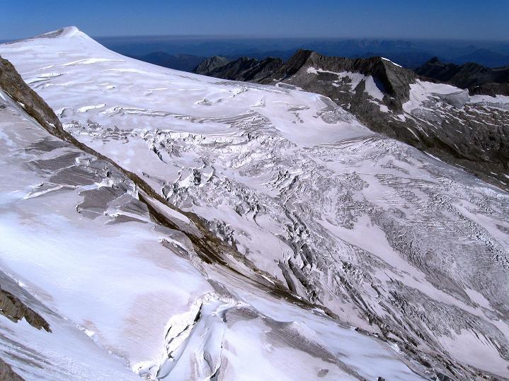 Foto: Andreas Koller / Wander Tour / Schwarze Wand und Hoher Zaun - stille Gipfeltour vom Defregger Haus (3507 m) / Schlatenkees und Kleinvenediger (3477 m) / 23.09.2008 23:59:05