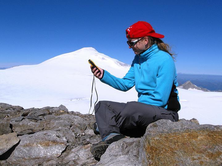 Foto: Andreas Koller / Wander Tour / Schwarze Wand und Hoher Zaun - stille Gipfeltour vom Defregger Haus (3507 m) / Die richtige Handhabung des GPS auf der Schwarzen Wand / 23.09.2008 23:53:54