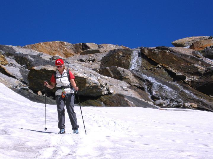 Foto: Andreas Koller / Wander Tour / Schwarze Wand und Hoher Zaun - stille Gipfeltour vom Defregger Haus (3507 m) / Abstieg beim Mullwitz Aderl / 23.09.2008 23:50:48