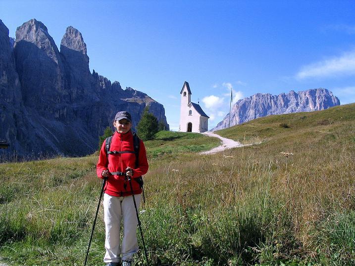 Foto: Andreas Koller / Klettersteig Tour / Ferrata Cir V (2520m) / Ausgangspunkt ist das Grödner Joch / 24.09.2008 00:48:56