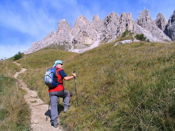 Foto: Andreas Koller / Klettersteig Tour / Ferrata Cir V (2520m) / Die Tschierspitzen / 24.09.2008 00:48:41