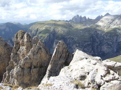 Foto: hofchri / Klettersteig Tour / Ferrata Cir V (2520m) / Panorama von der Cirspitze / 14.02.2009 17:37:47