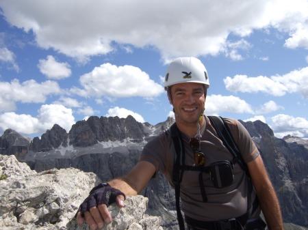 Foto: hofsab / Klettersteig Tour / Ferrata Cir V (2520m) / am Gipfel des Cir V / 29.08.2009 10:38:25