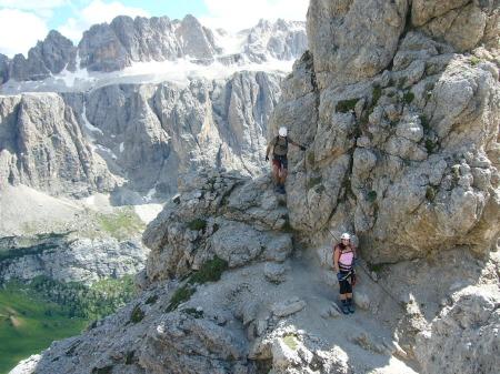 Foto: hofsab / Klettersteig Tour / Ferrata Cir V (2520m) / 29.08.2009 10:39:22