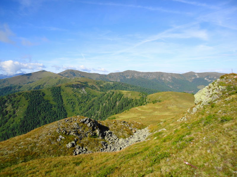 Foto: Günter Siegl / Wander Tour / 7 Gipfel Wanderung / Ursch-Sattel / 31.08.2014 21:22:27