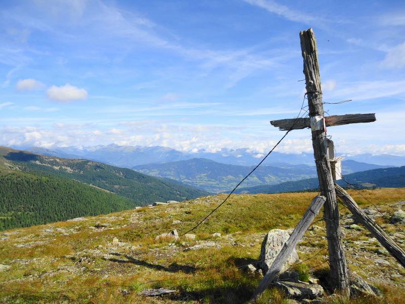 Foto: Günter Siegl / Wander Tour / 7 Gipfel Wanderung / Schwarmbrunnhöhe / 31.08.2014 21:21:13