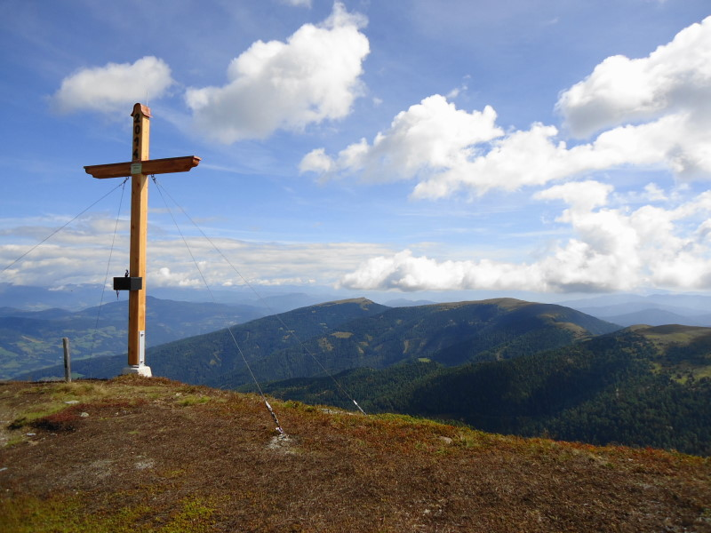 Foto: Günter Siegl / Wander Tour / 7 Gipfel Wanderung / Goldachnock / 31.08.2014 21:19:34