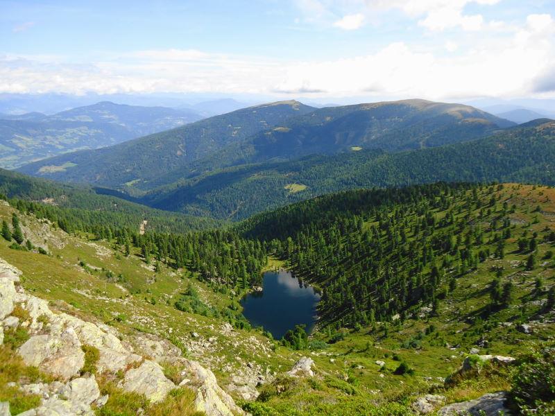 Foto: Günter Siegl / Wander Tour / 7 Gipfel Wanderung / Hauserersee / 31.08.2014 21:18:41