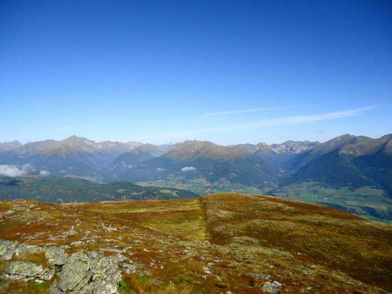 Foto: Günter Siegl / Wander Tour / Gstoder (von Seebach) / Blick zum Preber / 23.09.2014 21:16:01
