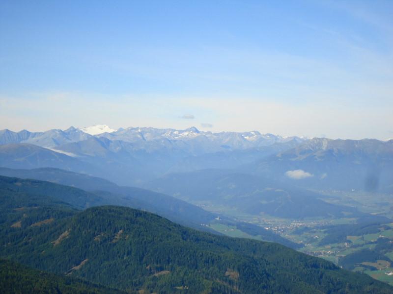 Foto: Günter Siegl / Wander Tour / Gstoder (von Seebach) / Blick zu Hochalmspitze und Tamsweg / 23.09.2014 21:13:35