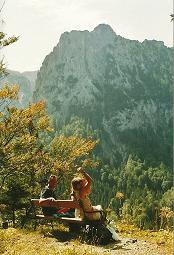 Foto: Wolfgang Dröthandl / Wander Tour / Durch die Höll - von Wegscheid nach Weichselboden / Blick vom Kastenriegel auf die Aflenzer Staritzen / 21.01.2011 08:16:47