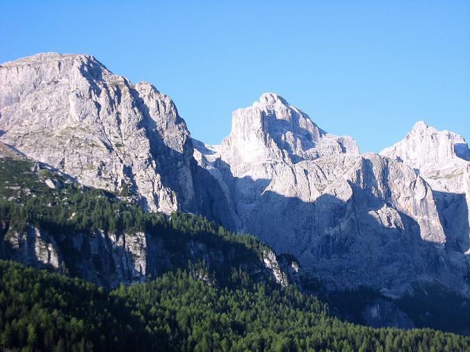 Foto: Andreas Koller / Klettersteig Tour / Piz da Lech (2910m): Südkar-Anstieg oder Klettersteig / Die Sella von Corvara / 25.09.2008 20:21:23