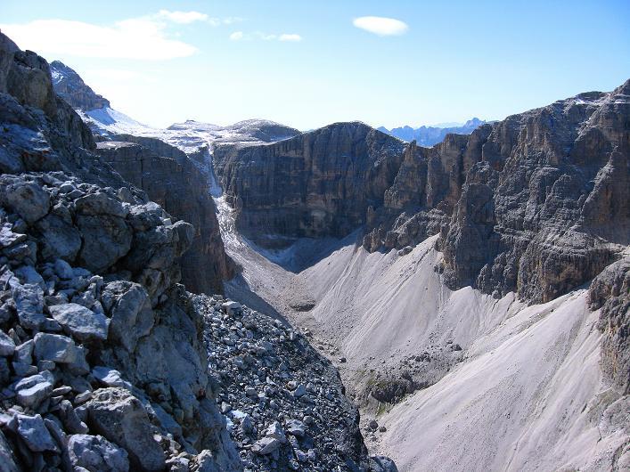 Foto: Andreas Koller / Klettersteig Tour / Piz da Lech (2910m): Südkar-Anstieg oder Klettersteig / Das Val di Mesdi  / 25.09.2008 20:07:57