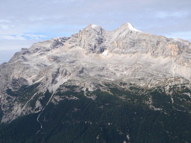Foto: Manfred Karl / Klettersteig Tour / Punta Fiames, Via ferrata Albino Michielli Strobel / Tofana di Mezzo und Dentro / 25.09.2008 21:55:33