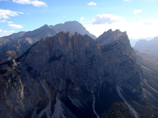 Foto: Manfred Karl / Klettersteig Tour / Col Rosá, Via ferrata Ettore Bovero / Pomagagnon und Cristallogruppe / 25.09.2008 22:16:57