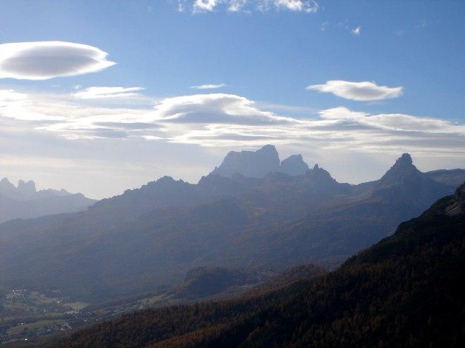 Foto: Manfred Karl / Klettersteig Tour / Col Rosá, Via ferrata Ettore Bovero / Monte Pelmo / 25.09.2008 22:16:29