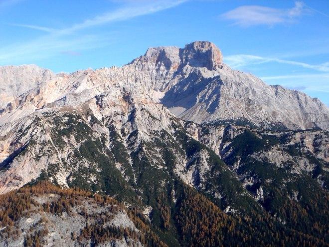 Foto: Manfred Karl / Klettersteig Tour / Col Rosá, Via ferrata Ettore Bovero / Hohe Gaisl / 25.09.2008 22:15:42