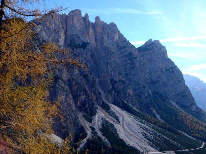 Foto: Manfred Karl / Klettersteig Tour / Col Rosá, Via ferrata Ettore Bovero / 25.09.2008 22:14:29