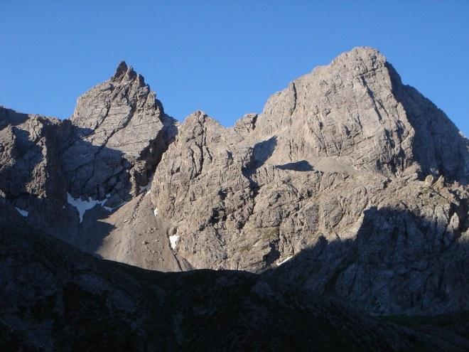 Foto: Manfred Karl / Klettersteig Tour / Laserz Klettersteig / Teplitzer Spitzen und Simonskopf - beliebte Kletterberge / 25.09.2008 22:42:37